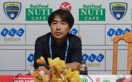 HLV Miura tiết lộ bí quyết vượt qua cuộc khủng hoảng lực lượng