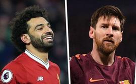 """Cập nhật """"Giày vàng"""" châu Âu: Lập Hattrick, Messi qua mặt Salah"""