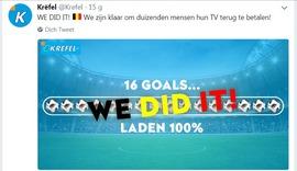Fans Bỉ được mua TV miễn phí sau thành tích ấn tượng của đội nhà