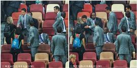 Trọng tài World Cup gặp họa vì bắt tay phụ nữ