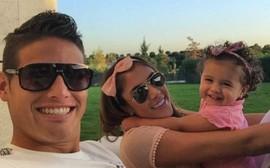 James Rodriguez ly dị Daniela Ospina sau 6 năm chung sống