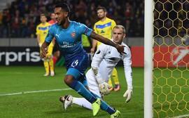 Arsenal độc chiếm ngôi đầu bảng H sau trận cầu có 6 bàn thắng