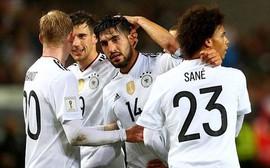 Đức vùi dập Azerbaijan, toàn thắng cả 10 trận tại vòng loại World Cup 2018