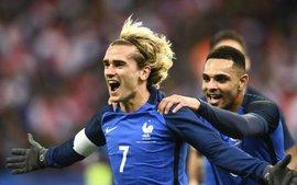 Song sát Griezmann - Giroud giúp Pháp hạ Xứ Wales trên sân nhà