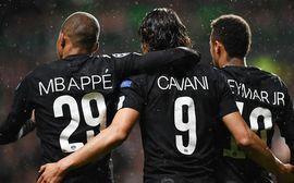 Neymar kiến tạo, Cavani và Mbappe ghi bàn, PSG vô địch lượt đi Ligue 1