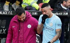 Sao Man City khóc tức tưởi vì chấn thương nặng