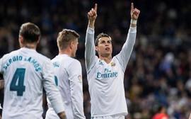 Ronaldo lập hat-trick, Real Madrid thắng tưng bừng