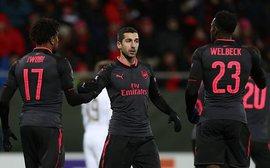 Cựu sao Man Utd ghi dấu ấn trong chiến thắng 3-0 của Arsenal tại Europa League