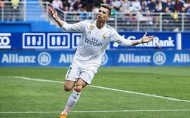 Ronaldo lập cú đúp, Real Madrid thắng trận thứ 3 liên tiếp