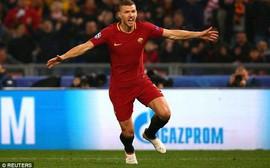 Cựu sao Man City tỏa sáng đưa Roma vào tứ kết Champions League