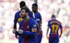 Messi lập công, Barca tiến sát ngôi vương La Liga