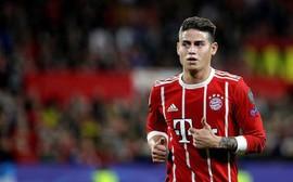 Sevilla 1-2 Bayern Munich: James Rodriguez vào sân tạo ra bước ngoặt