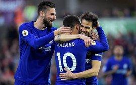 Fabregas lập siêu phẩm, Chelsea chưa buông hy vọng giành vé Champions League