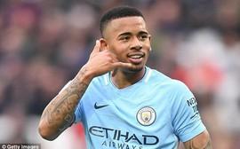 Man City thắng tưng bừng, tiến gần 2 kỷ lục của giải Ngoại hạng Anh