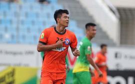 Hà Đức Chinh ghi bàn, Đà Nẵng vẫn thua kịch tính trước Hải Phòng