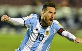 Messi dẫn đầu hàng tiền đạo siêu khủng của Argentina dự World Cup 2018