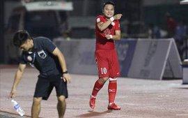 Phi Sơn nhận thẻ đỏ trực tiếp, TP.HCM trắng tay trước Than Quảng Ninh