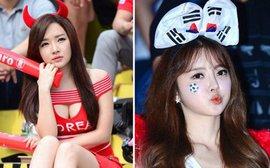 Hàn Quốc và những quốc gia có fan nữ nóng bỏng và cuồng nhiệt nhất World Cup