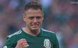 Chicharito khóc nức nở sau khi thắng sốc tuyển Đức