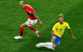 """Neymar lại khiến người hâm mộ đội Brazil """"ngồi trên đống lửa"""""""