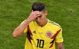 James Rodriguez chấn thương, nguy cơ cao vắng mặt trận đại chiến với đội tuyển Anh
