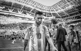 Bộ ảnh trắng đen choáng ngợp về World Cup 2018
