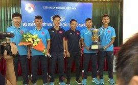 Hạ gục người Thái, Việt Nam thẳng hướng tới World Cup