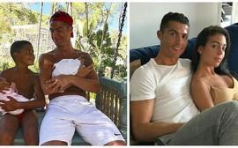 Ronaldo ủ mưu để người đẹp Georgina Rodriguez sinh nhiều con