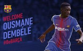 Nóng: Barcelona chính thức có được Dembele
