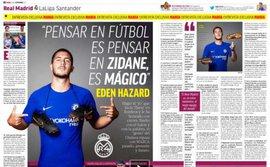 """Chelsea nhận cú sốc: Hazard """"thả thính"""" Real 300 triệu euro"""