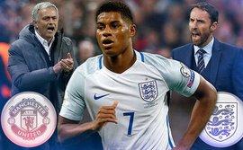 Mourinho xù lông nhím, ép tuyển Anh... loại Rashford