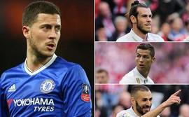 Real xây tam tấu mới: Hốt Hazard 120 triệu bảng, nhả Bale cho MU