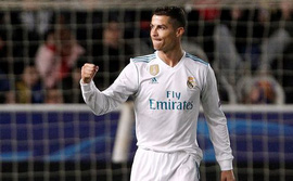 Ronaldo lập cú đúp, Real Madrid thắng ngoạn mục
