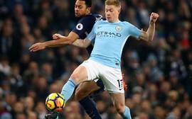 Man City thăng hoa nhờ cái chân trái 'kinh dị' của De Bruyne