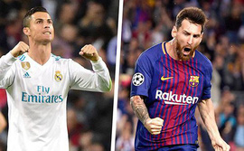 Kinh điển Real Madrid - Barcelona: Ronaldo, Messi và sự vĩnh cửu của những huyền thoại