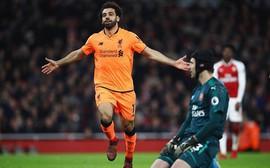 6 phút - 4 bàn thắng, Liverpool thêm lần