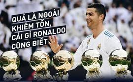 Ronaldo và Messi cầm tốp phát biểu