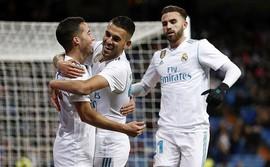 Dùng đội hình dự bị, Real Madrid vẫn dễ dàng tiến vào vòng tứ kết