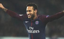 Neymar lập poker, PSG nã 8 bàn vào lưới đối thủ