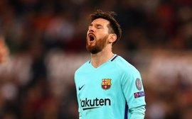 Barca thua sốc: Đằng sau khuôn mặt đau khổ là nỗi cô đơn vô tận của Messi