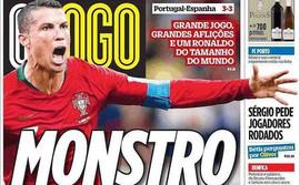 Ronaldo được gọi là quái vật, làm báo chí xứ Đấu bò tiếc nuối vì không chơi cho TBN