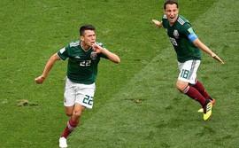 Fan Mexico tạo ra động đất khi ăn mừng bàn thắng lịch sử vào lưới ĐT Đức
