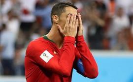 Đá hỏng penalty, Ronaldo trở thành
