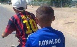 Cư dân mạng đua nhau chế ảnh ngày Messi và Ronaldo rủ nhau rời World Cup 2018
