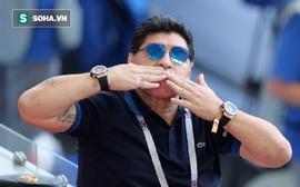 """Tổng sỉ vả trọng tài là """"kẻ cắp"""", Maradona bị FIFA đáp trả mạnh mẽ"""