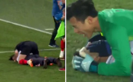 World Cup 2018: Ngôi sao Croatia tái hiện màn ăn mừng kiểu