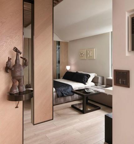 00261abaitrinoithatthongminhva Chia sẻ cách bài trí nội thất tiện nghi cho căn hộ 21 m²