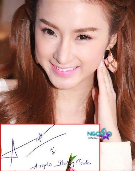 Tò mò chữ ký của sao Việt 13