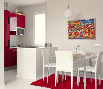 Hiện đại và tiện nghi căn hộ 45m² 2