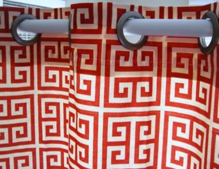163b056cachbaitriphongtamantuo Chia sẻ 6 cách bài trí phòng tắm ấn tượng với gam màu đỏ